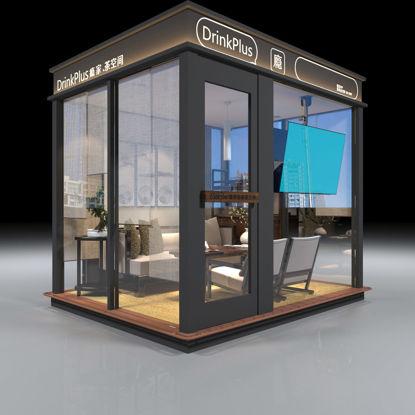 Outdoor rest pavilion room 3d model