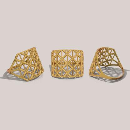 Ring 3d printing model