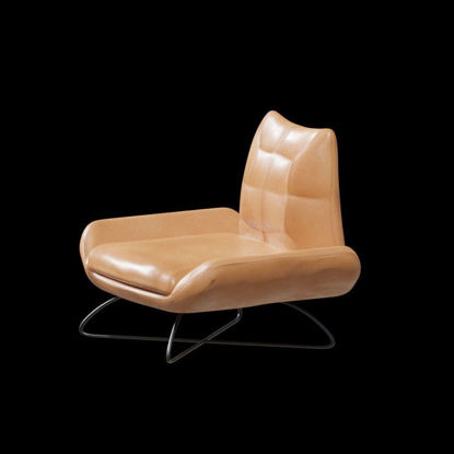 Luxury modern leather chair 3D model