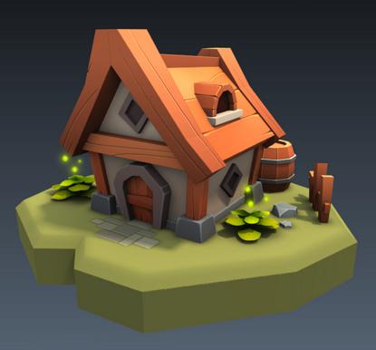 Pieci's House 3d model