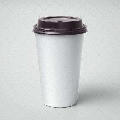 Milk tea cup mockup