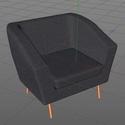 Sofa Chair 3d model
