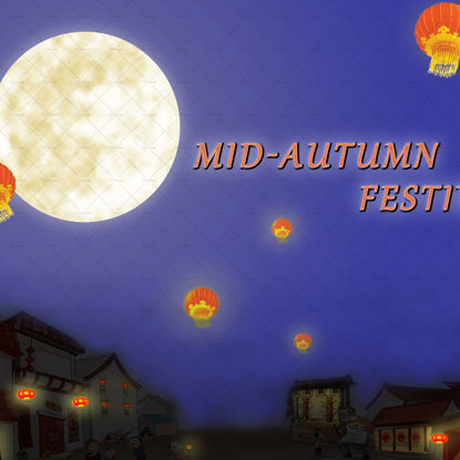 Celebrate Mid-Autumn Festival poster