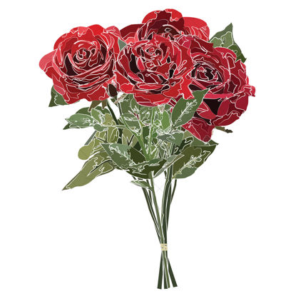 roses bouquet png