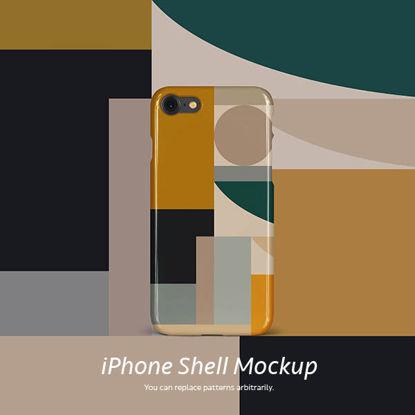 iPhone shell mockup