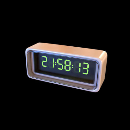 Digital Watch 3d model