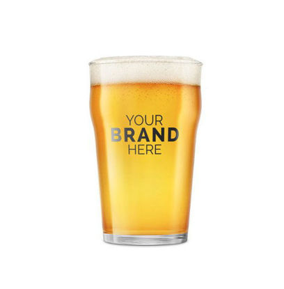 Lager Beer Glass Mockup