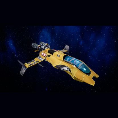 Next-Gen Space Ship 3d model