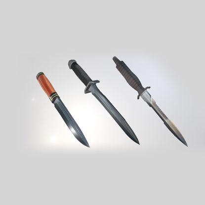 Modular Knife 3d model pack