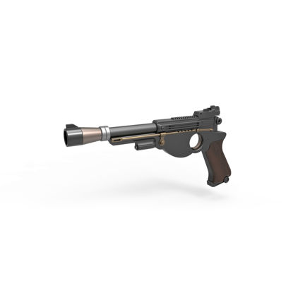 Blaster pistol 3d print model from The Mandalorian TV series