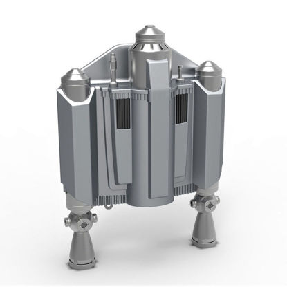 Jetpack 3d print model from The Mandalorian TV series