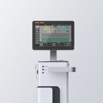 3D industrial model of sub-hypothermia treatment instrument