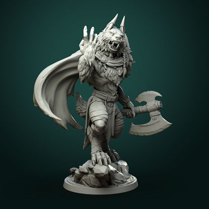 Karrash the Forest Shadow (2 variants) pre-supported 3d print model