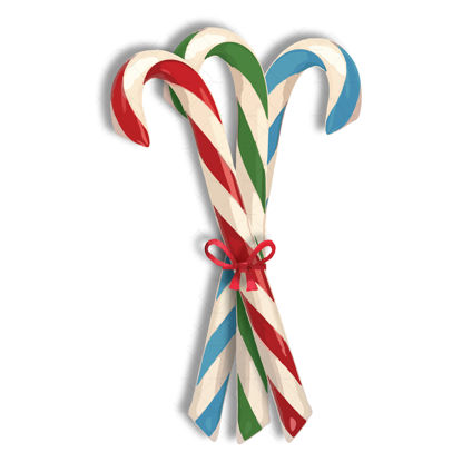 Candy cane bundle Christmas png