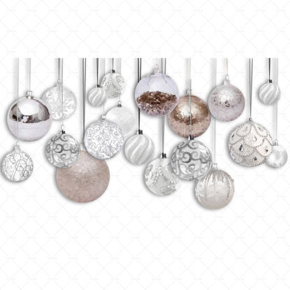 Christmas hanging decorations png