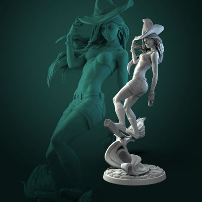 Anita the Young Witch STL printing miniature