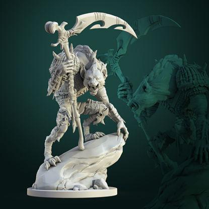 Mezg Gnoll Commander 3d print model