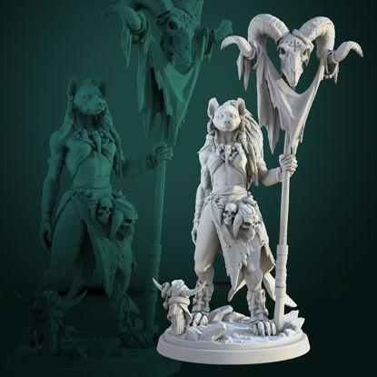 Meirsoa Gnoll Matriarch 3d print model