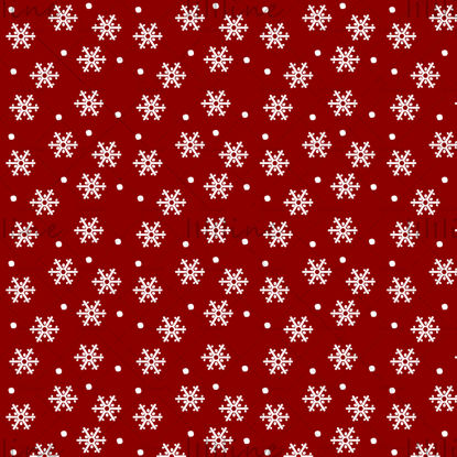 Christmas red vector seamless pattern packaging snow snowflake festival