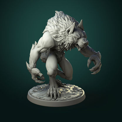 common werewolf 3d print model