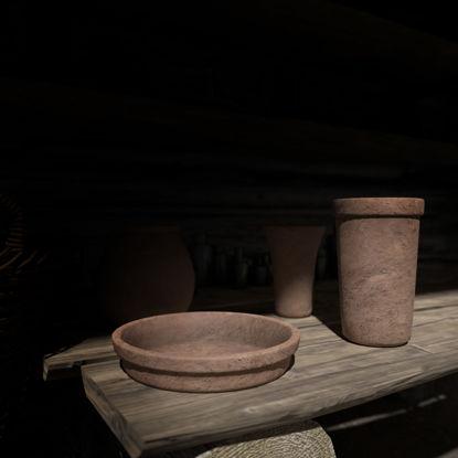 Clay Pot 3D Model Pack