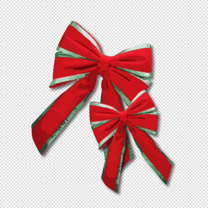 Christmas bows png Decoration