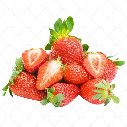 a pile of strawberry