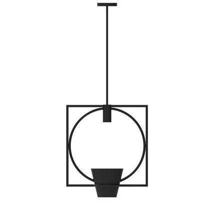Industrial Design of Chinese Garden Flower Pot Hanging Lamp
