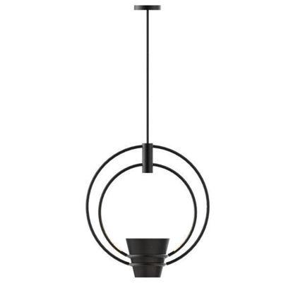 Rhino model of Chinese garden flowerpot hanging lamp
