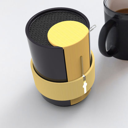 Bluetooth speaker industrial design 3D model
