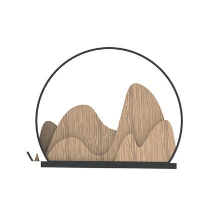 Huishan incense support Industrial Design 3D Model