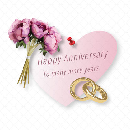 Anniversary template png vector
