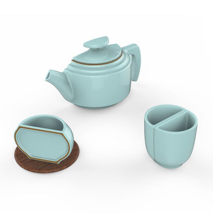 1/2 Tea Ware Design Industrial Design 3D Model