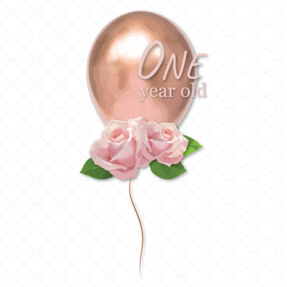 Pretty balloons for birthdays png