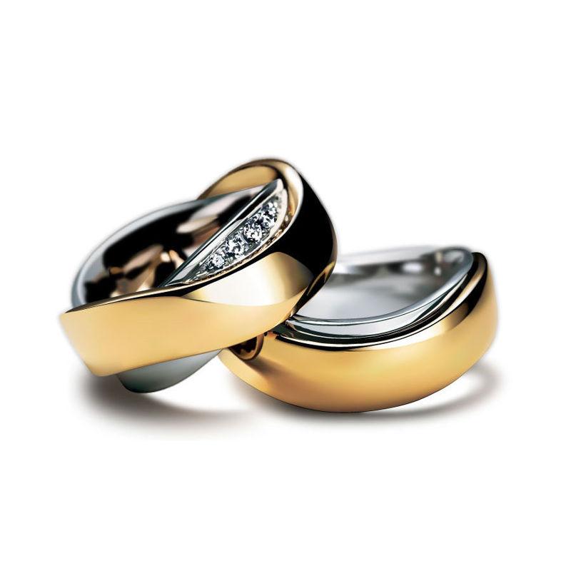 Diamond Rings Photorealistic Graphic Design AI Vector
