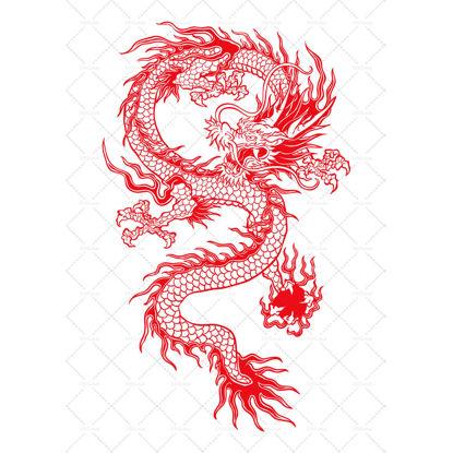 dragon with ball
