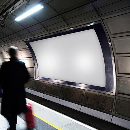 billboard underground metro subway mockup 06