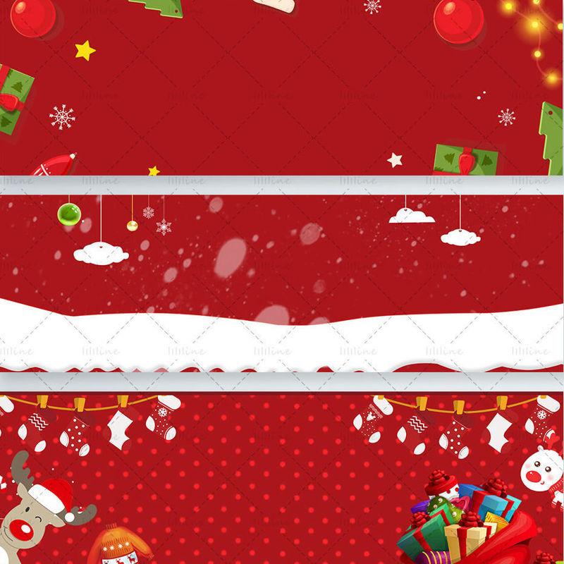 Christmas Banner psd (4 files)