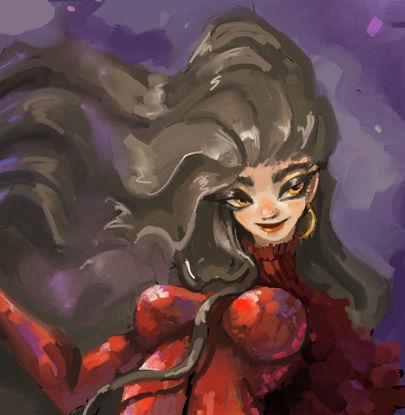 Crimson Witch illustration
