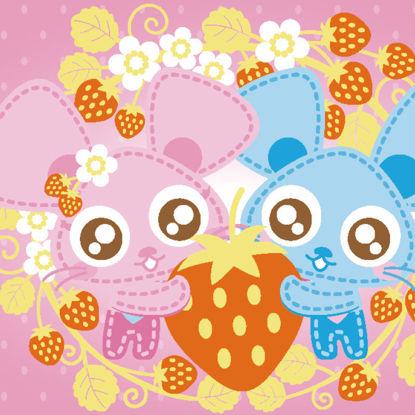 Cartoon mouse couple valentine illustration vector eps