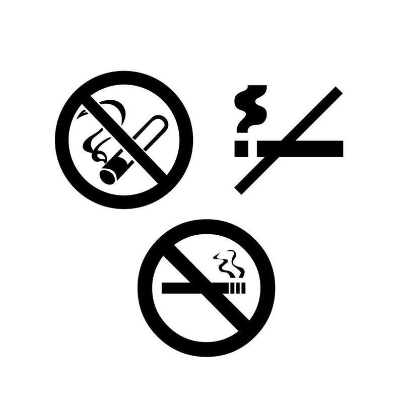 Symbol nichtraucher Allen Carr's