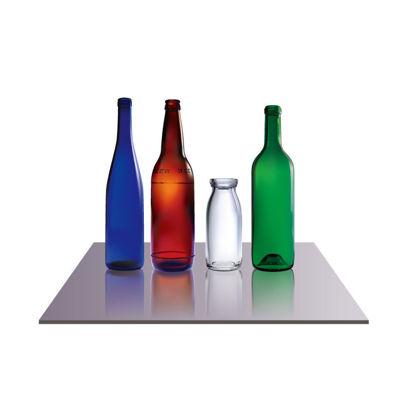Beer Drink Milk Glass Bottles AI Vector