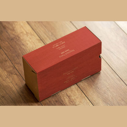 Courier box smart object mock up psd