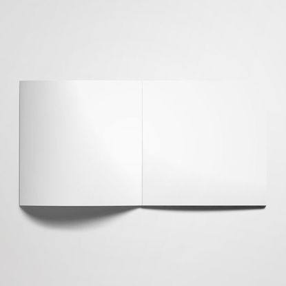 square brochure catalogue mockup PSD