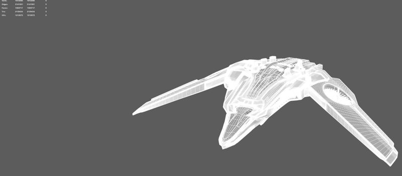 smooth apply Sci-fi drone 3d model