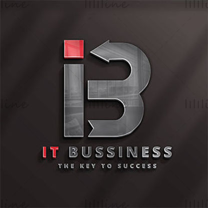 IT Business Logo Template Design