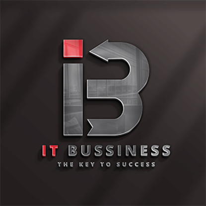 IT Business Logo Template Design