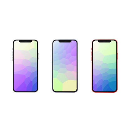 Iphone 12 vectors mockup
