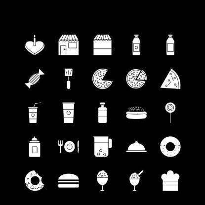 Vector food, ice cream, diet, food, soup,icon