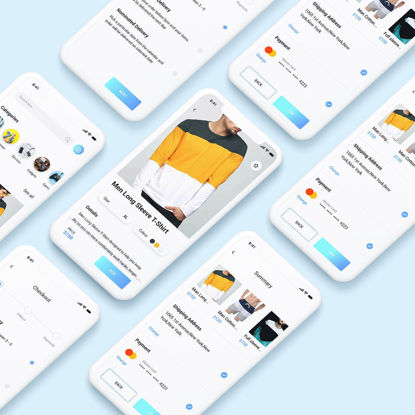 E-Commerce App Concept For Fashion